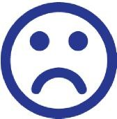 image of Sad face icon